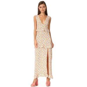 Shopbop Nightwalker The Elsa Maxi Dress, Size MED